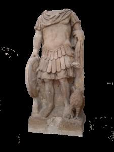 statue de jupiter, musée Lapidaire